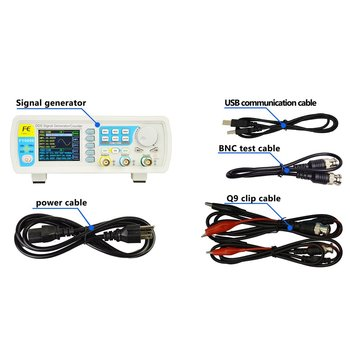 FellTech FY3200S 12MHZ Digital DDS Dual-channel Function Signal Source Generator Arbitrary Waveform/Pulse Frequency Meter US