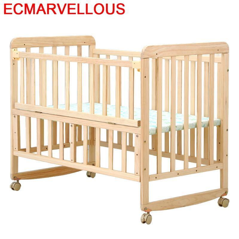 For Camerette Children's Individual Girl Menino Cama Infantil Letto Bambini Fille Wooden Chambre Lit Enfant Kinderbett Kid Bed