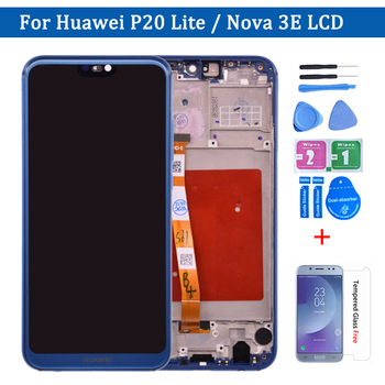 5.84'' Original For Huawei P20 Lite LCD Display Touch Screen Pannel Digitizer Assembly ANE-LX1 ANE-LX3 For Huawei Nova 3e lcd