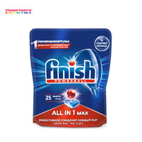 Washing Machine Cleaner Finish All in 1 Max Home Garden Household Merchandises Cleaning Chemicals Chemical Merchandise tablets tablet dishwashing dish washer dishes dishwashers 25 PCs.