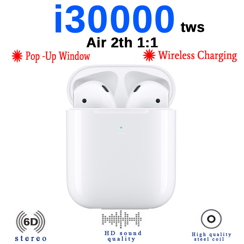 i30000 <font><b>TWS</b></font> New in-Ear <font><b>Earphone</b></font> <font><b>Bluetooth</b></font> <font><b>5.0</b></font> Earbuds Tap Control <font><b>Wireless</b></font> Charging <font><b>Earphones</b></font> PK H1 W1 <font><b>TWS</b></font> <font><b>i12</b></font> i60 i80 i10000 <font><b>TWS</b></font> image