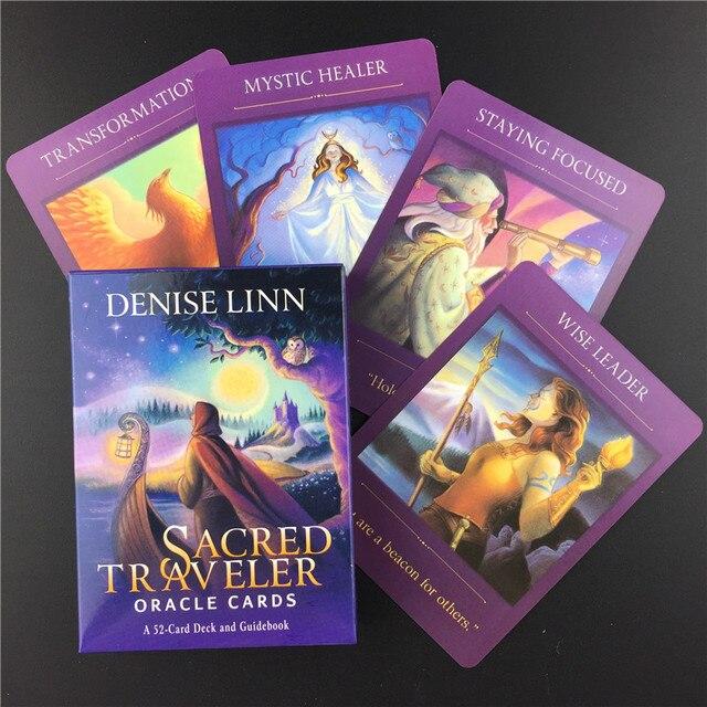 Ο ιερός ταξιδιώτης κάρτες ταρώ χαρτομαντείας αγγλική έκδοση επιτραπέζια παιχνίδια ενηλίκων ηλεκτρονικές οδηγίες