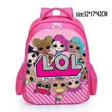 Bolso lindo de la escuela de los niños de la mochila de la sorpresa de las muñecas de LOL