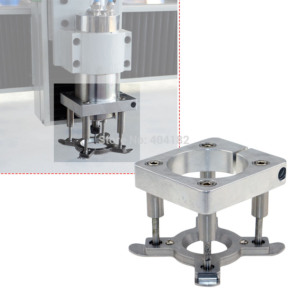 Factory Supply CNC Engraving Machine Spindle Auto Pressure  Water-air-cooled Motor Fixture Plate Dia 100mm Diy Accessories