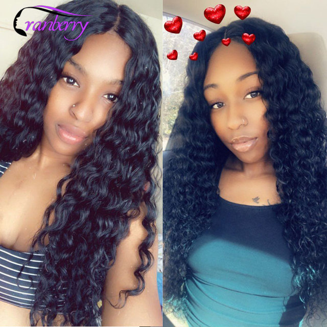 CRANBERRY Hair Deep Wave Human Hair Bundles With Closure 4 pcs/lot Brazilian Hair Weave Bundles With Closure Remy Hair Extension 6