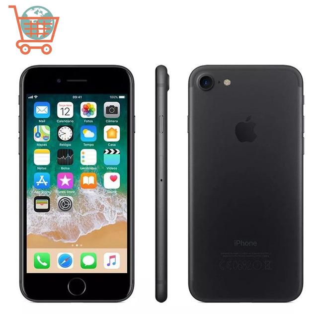 Unlocked Apple iPhone 7 4G LTE Smartphone 32/128GB/256GB IOS 12.0MP Camera Quad-Core Fingerprint 12MP Camera Apple Phone