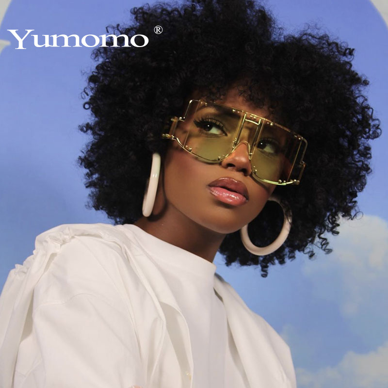 Fashion Oversized Sunglasses Women Fashion 2019 New Big Square Frame Top Sun Glasses Female Vintage Retro Sunglass For Women Men