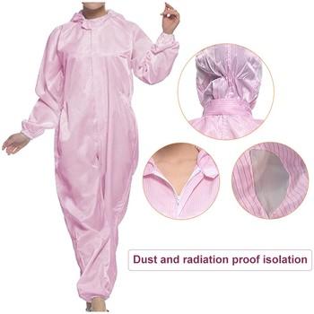 Mundurek roboczy dla kobiet mężczyzn antystatyczna pyłoszczelna ropa trabajo farba w sprayu ogólnie zmywalny warsztat odzież ochronna A60 tanie i dobre opinie wodoodporne Szybkoschnące Odzież do pomieszczeń czystych Polieterosulfon Zestawy Isolation Suit Unisex Sukno