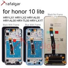 Trafalgar LCDสำหรับHuawei Honor 10 LiteจอแสดงผลLCD HRY LX1 HRY LX2หน้าจอสัมผัสสำหรับHonor 10 Liteจอแสดงผลกรอบเปลี่ยน