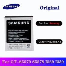 Оригинальный аккумулятор samsung eb494353vu 5 шт/лот 1200 мАч