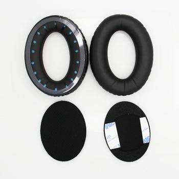 1 par de almohadillas de espuma blanda para Bose alrededor de la oreja AE para Triport TP1 TP-1 auriculares de repuesto negro Yw #