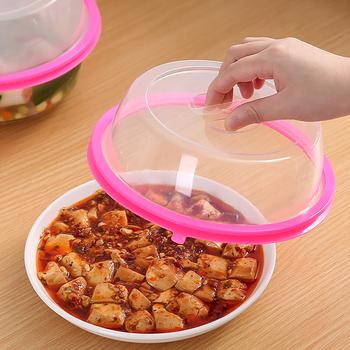 Wielokrotnego użytku silikonowe próżniowe konserwacja żywności pokrywa osłona do mikrofalówki miska pokrywka lodówka konserwacja gospodarstwa domowego tanie i dobre opinie CN (pochodzenie) Z tworzywa sztucznego