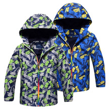 Spring Autumn Children Jacket Polar Fleece Outerwear Sport Coats Kids Clothes Waterproof Windbreaker For Boys Jackets цена 2017