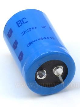 2pcs/10pcs original new Netherlands BC tube amp fever tonic capacitance 220UF400V 25*40mm free shipping free sea shipping to usa 2pcs hgr25 3000mm and hgw25c 10pcs