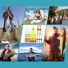 Hot sale Brand 15pcs Various Sizes Lot Fishing Lure Floats Resistant Drift Tube Accessories Sport