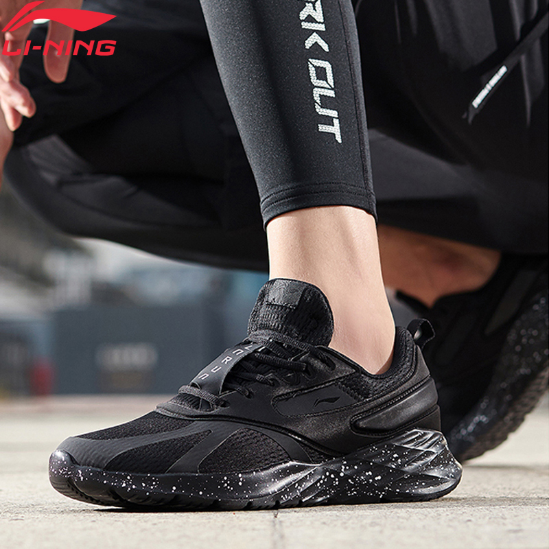 Li-Ning Men CRAZY RUN Cushion Running Shoes Breathable Light Weight Comfort LiNing Li Ning Fitness Sport Shoes ARHP147 XYP945