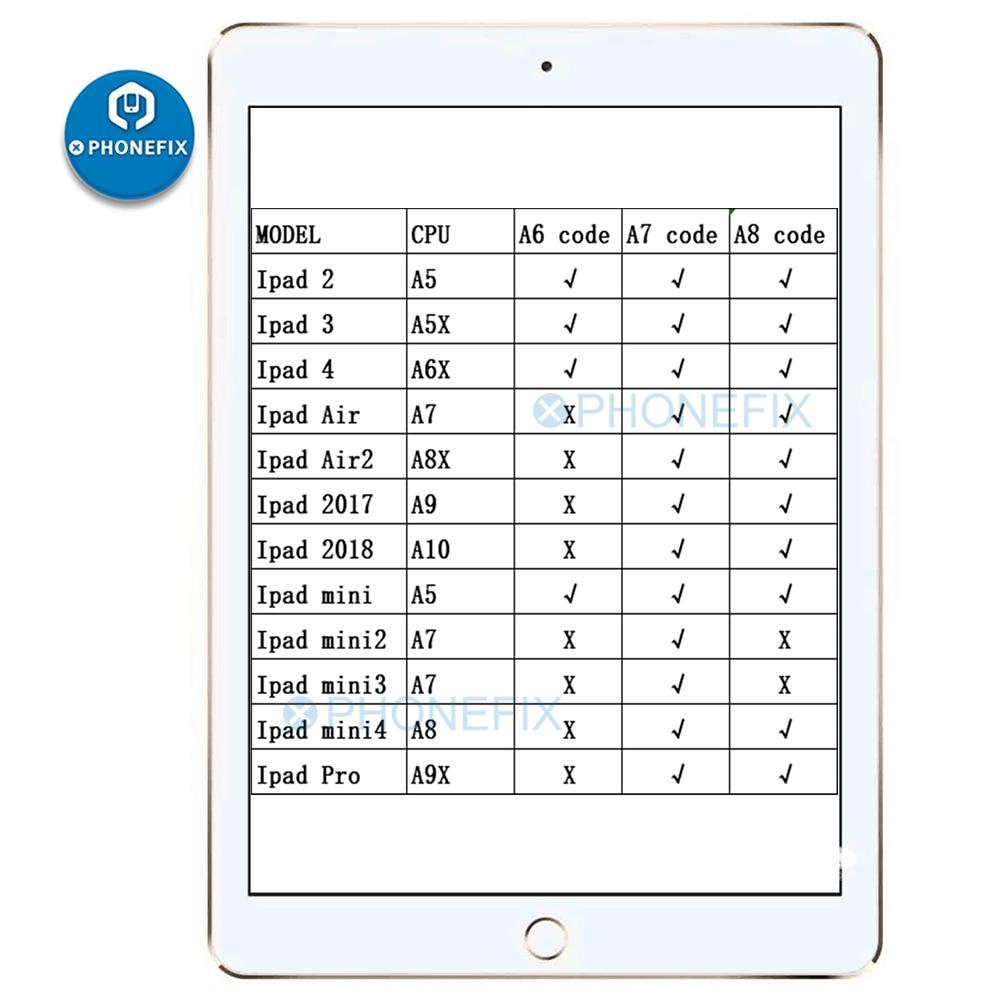 Разблокированный серийный номер SN для ipad 234 mini123 air12 pro, серийный номер Wi-Fi, BT-адрес A6, A7, A8, A9, A10 для ipad, разблокировка icloud