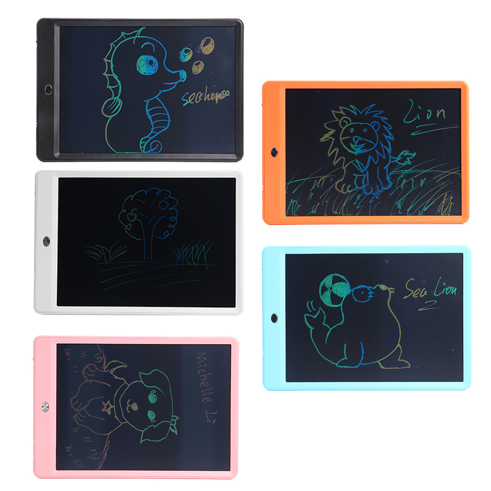 8.5/10/12inch Ultra-thin Color Screen Drawing Tablet Electronic Handwriting Pad Kids LCD Writing Painting Board Children Gift