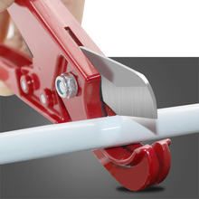 32mm PVC Pipe Cutter Scissors Pipe Shear PU PP PE Hose Water Tube Cutting Hand Tool Aluminum Scissor pneumatic pipe hose shears pu pe tube cutter knife fit for tube size 1mm 14mm od hose pipe