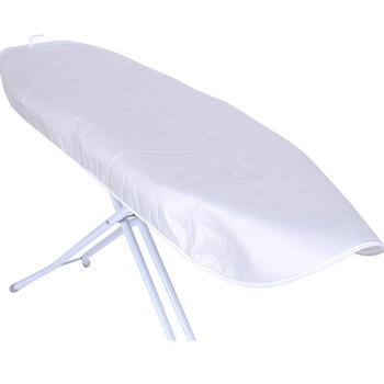 Pokryta srebrem wyściełana pokrywa na deskę do prasowania uniwersalny odblaskowy sznurek ze sznurkiem odporny na plamy deski Protector tanie i dobre opinie Składane polyester HA1759-01B