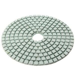 Image 4 - Juego de 12 herramientas abrasivas de 4 /100mm, almohadillas de pulido de diamante en seco y húmedo, amoladora de disco de lijado para piedra de granito, pulidor de mármol y hormigón
