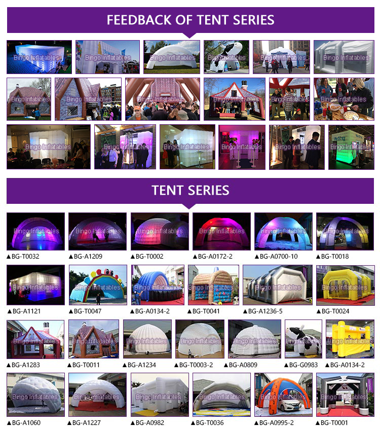 Inflatable tent-series-