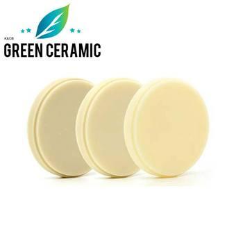 Green milling5 pieces zirkonzahn OD95mm dental PMMA discs for temporary dentures