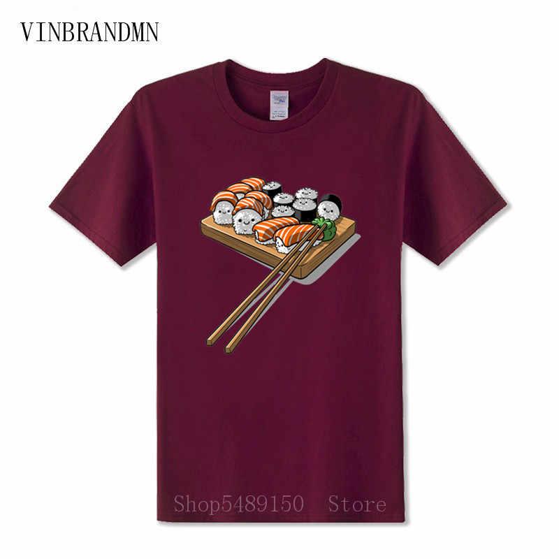 Food Sushi 3D Print Casual T-Shirt Fashion Womens Mens Short Sleeve Tops Tee