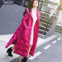 2019 New Winter Thicken Warm Women Long Cotton Jacket Woman