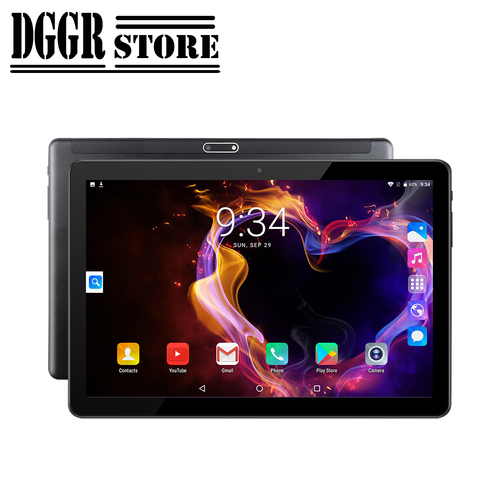 bobarry 10 polegada tablet versao global android os apoio google play ouad nucleo ram 2g