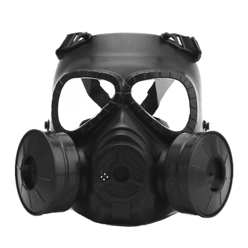 M04 Bicycle Mask Cs Field Outdoor Games Faceguard Impact Resistant Protective Gas Masks Outdoor Face Mask With Cooler Fan
