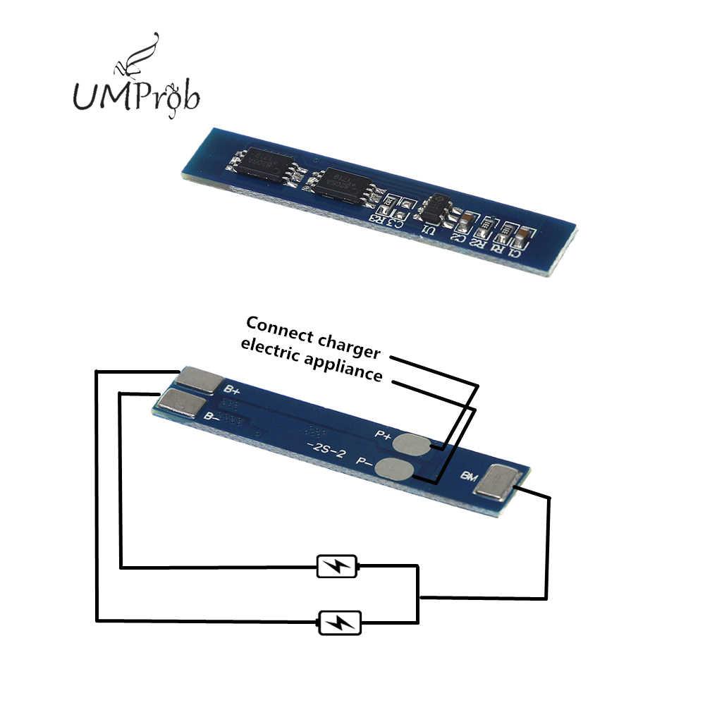 2S 3A Li-Ion 7,4 v 8,4 V 18650 литиевая батарея зарядное устройство Защитная плата bms pcm для литий-ионных плата защиты литий-полимерных аккумуляторов