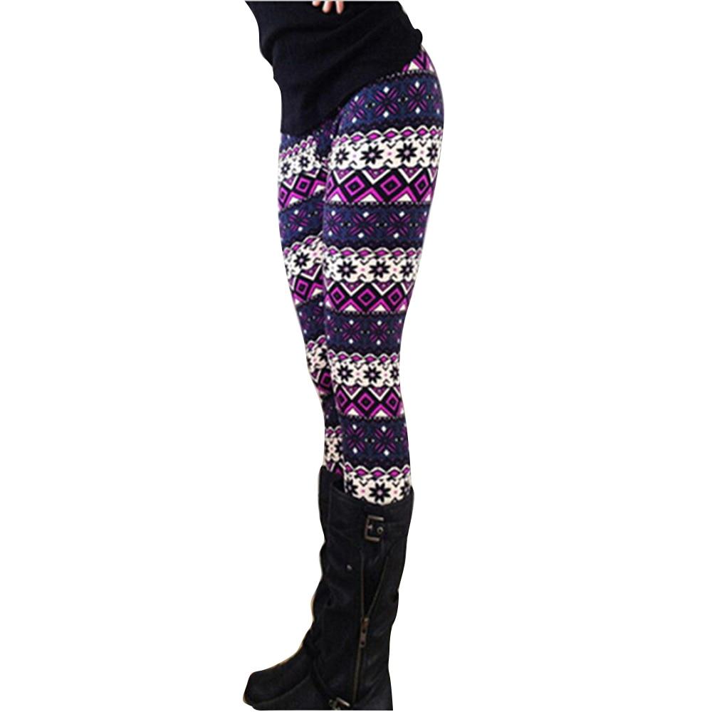 Women Brand Fashion Autumn Winter Casual High Waist Leggings New Large Size High Elastic Print Leggings Tight Legging