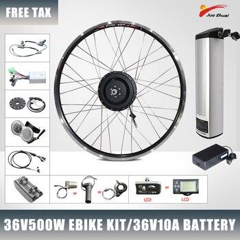 Kit de conversión de Bicicleta eléctrica con Motor de cubo delantero y...