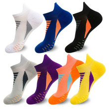 Running-Socks Tennis Basketball Professional Cotton Summer Wicking Thick Men Moisture