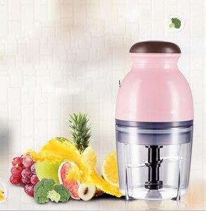 600ml Mini Electric Meat Grinder Food Processor Vegetable Fruit Blender Chopper Fruit Blender Chopper