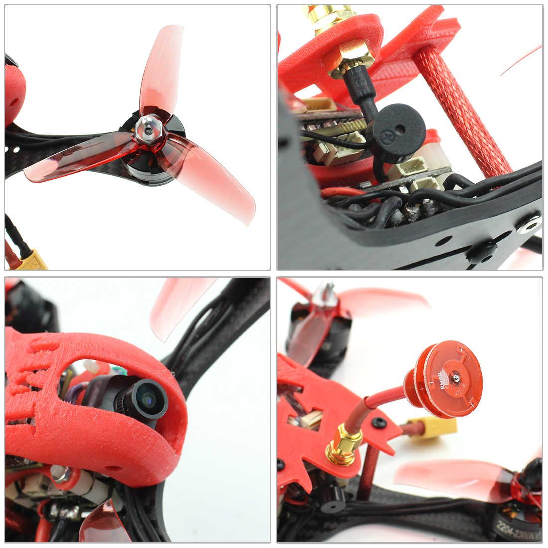 T180 4 pouces 3S FPV course Drone HD caméra bébé tortue 800TVL BNF Betaflight F4 Pro V2 OSD sans brosse RC quadrirotor pour FRSKY D8