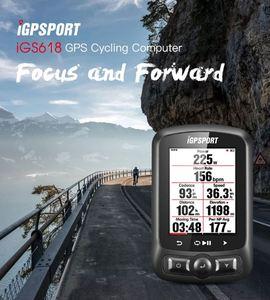 Image 2 - רכיבה על אופניים צבע מסך מחשב GPS iGS618 iGPSPORT Tracker ניווט אופני מד מהירות IPX7