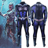Aquaman Orm Marius Ocean Master Cosplay Costume Zentai Bodysuit Adults Kids One Piece Tight Suit