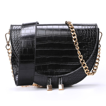 Luxury Handbags Women Bags Designer Alligator PU Leather Small Chains Girls Purse Vintage Shoulder Crossbody Bags For Women brand casual pu small alligator crocodile chains ladies women clutch famous designer shoulder messenger crossbody bags for lady