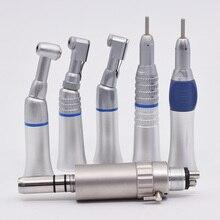 Laboratorium dentystyczne kątnica prosto niska prędkość rękojeści mikrosilnik elektryczny szczotka do polerowania turbiny powietrznej rękojeść