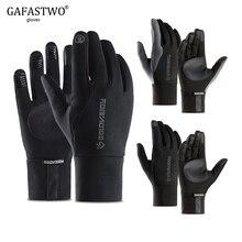 Black Winter Warm Mens Gloves Ladies Fashion Touch Screen No