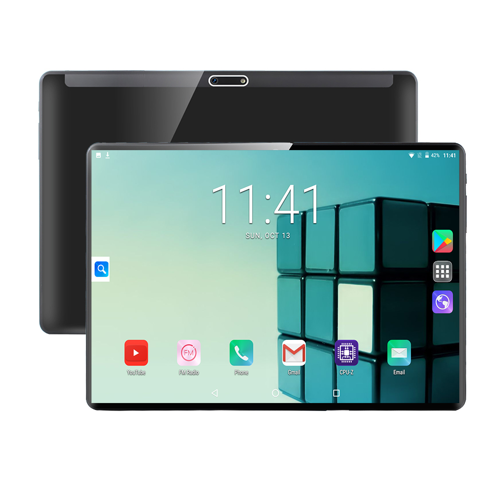 2.5D Tempered Glass Tablet <font><b>MTK8752</b></font> Android 9.0 Octa Core 10 inch 6GB RAM 128GB ROM 8.0MP WIFI A-GPS 4G LTE IPS 1280 800 Tablet image