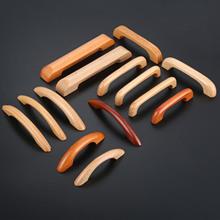 Uchwyt do holowania drewna gałki 64-128MM meble i szafki kuchenne uchwyt solidny drewniany uchwyt szafki uchwyt drzwi gałka szuflady uchwyt gałki tanie tanio Polerowane