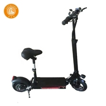 LOVELION New Electric foldable scooter Adult Fold 800W power motor Bicycle for with seat kick on road scooters