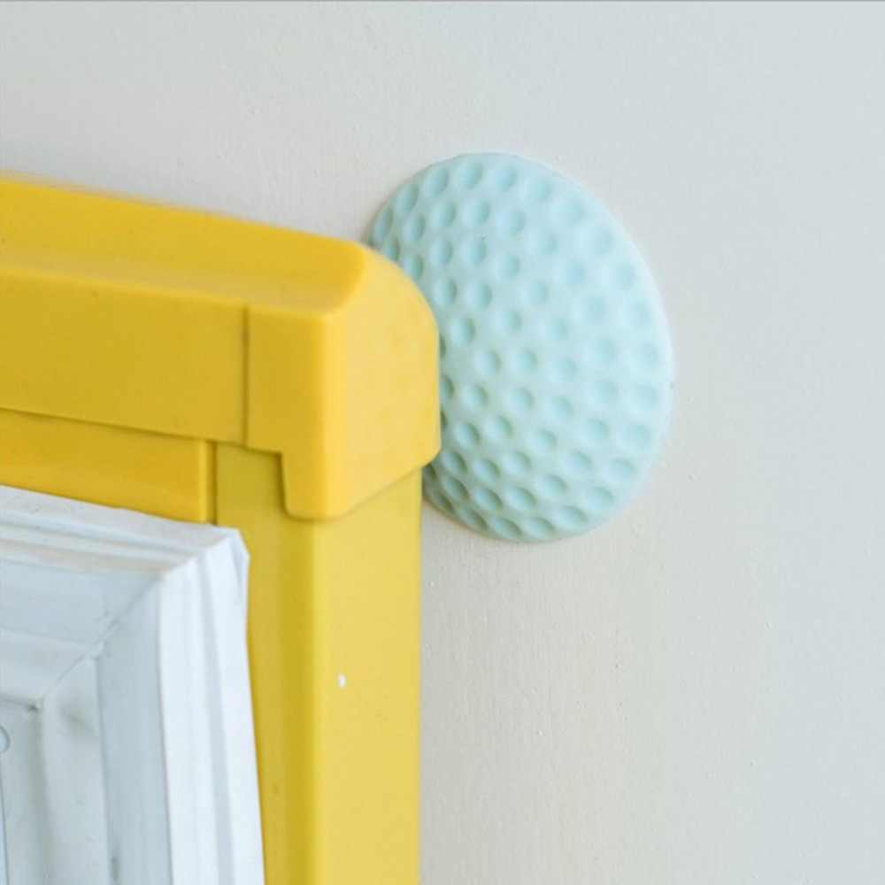 Handle Pintu Kunci Pintu Peredam Perlindungan Pad Dinding Belakang Kecelakaan Protactive Pad Dropshipping