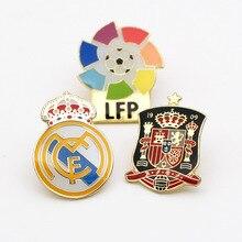 Футбольный болельщик сувениры Бразилия Аргентина Германия Португалия Испания Команда брошь с логотипом значок студенческий подарок