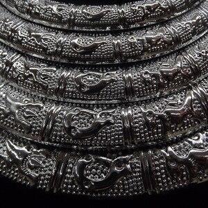 Image 3 - Nationale Wind Vijf Layer Sfeer Vrouwelijke Kraag Ketting Tibetaans Zilver 12 Zodiac Vrouwelijke Sieraden Bijuteria Jhumka Pusheen