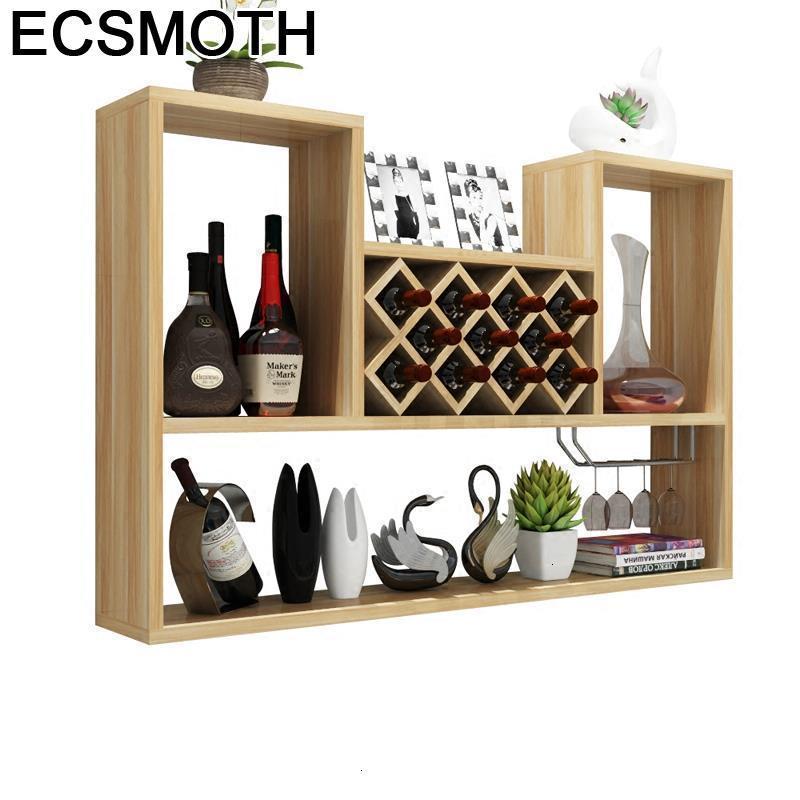 Meube Hotel Dolabi Vetrinetta Da Esposizione Desk Salon Cristaleira Meja Mueble Bar Shelf Commercial Furniture Wine Cabinet