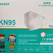 Boys Girls Children KN95 Dustproof Anti-fog And Breathable Face Masks Filtration Kid FFP2 Mouth Masks Reusable Mouth Muffle